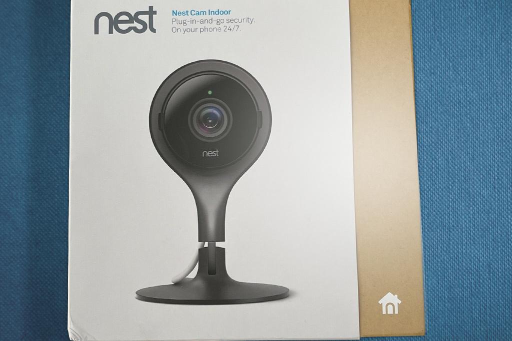 Nest cam in box